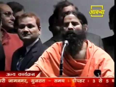 Baba Ramdev and Subramanian Swamy addressing ACACI meet on 4th Feb, 2012