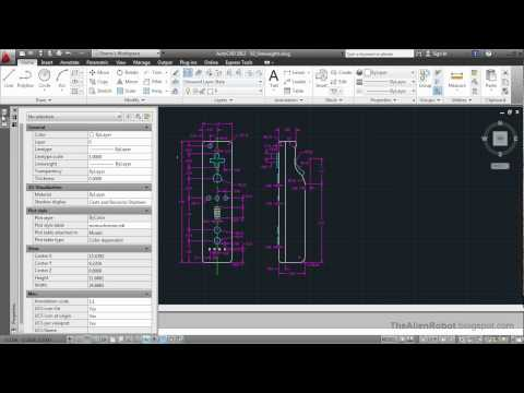 AutoCAD 2012 Introduction Training-1503 Line weights