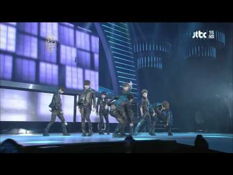 [HD] 120119 Infinite Paradise + Be-Mine (remix)  [Golden Disk Awards]