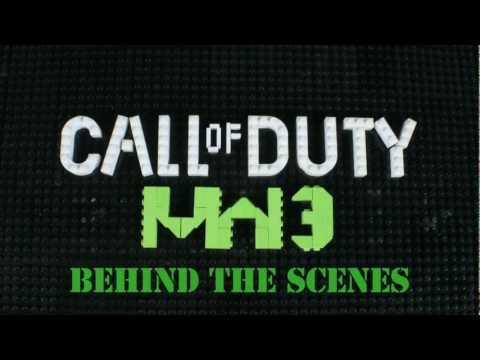 Lego Call of Duty MW3 Behind the Scenes