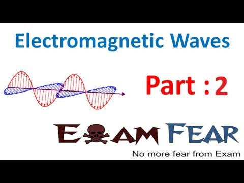 Physics Electromagnetic Waves part 2 (Maxwell Experiment) CBSE class 12