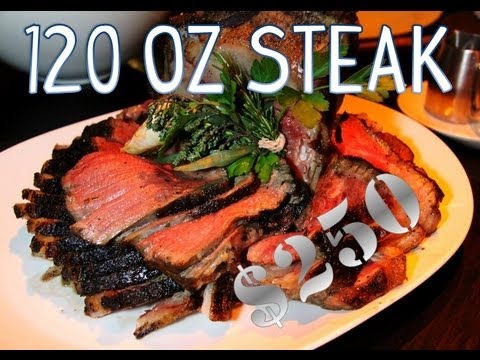 America's Most Expensive Challenge -120oz Steak  | Furious Pete