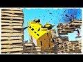 ЗАГРИФЕРИЛ ДОМ НУБИКА В GTA ONLINE!!! (УГАР - РПГ vs ДЖИП В ГТА ОНЛАЙН)