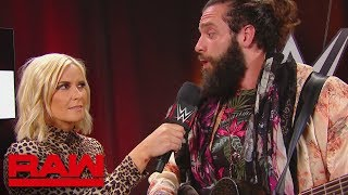 There\'s no time for an Elias performance: Raw, April 16, 2018