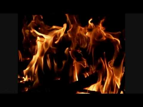 Fireplace slow motion flames (wide) EX-F1 300fps V07214