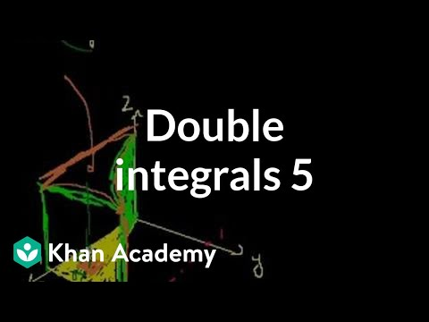 Double Integrals 5