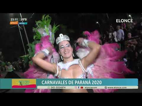 Carnaval de Paraná: Reina de la comparsa Emperatriz
