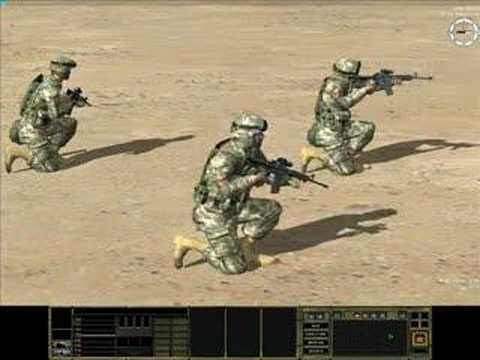 Combat Mission: Shock Force - M4 Carbine Beta Video