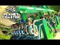 Planet Coaster - Парк аттракционов! Начало веселья! 😁 #1