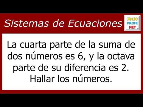 Problema con dos ecuaciones simultáneas