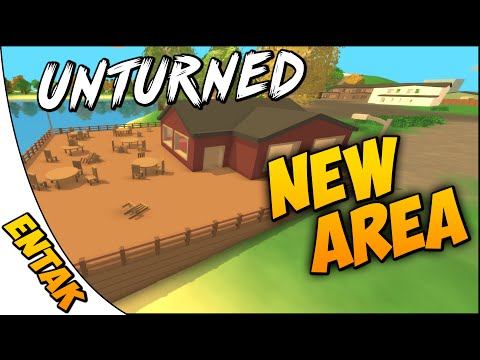 Unturned 3.0 ➤ New Large Country Club/Restaurant Area [Part 3]