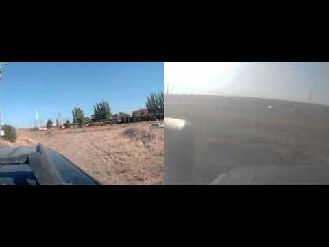 Encierro Dia 2-9-2014 escapada de los toros del embudo a la carretera de Rubi de Bracamonte