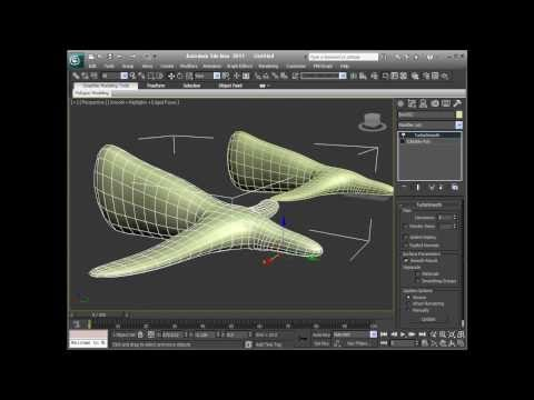 3DS Max 2011 - Organic Modelling Using NURMS, Subdivision Surfaces and Level of Detail (LOD)