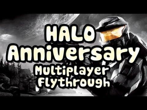 Halo: Anniversary - Multiplayer Maps Flythrough