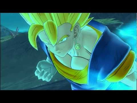 Dragonball Raging Blast 2 - Vegito vs Magin buu(gohan absorbed)