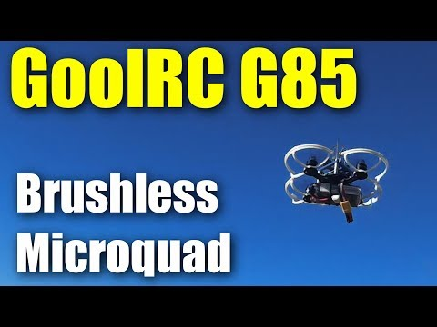 GoolRC G85 3S brushless micro-drone from RCMoment - UCahqHsTaADV8MMmj2D5i1Vw