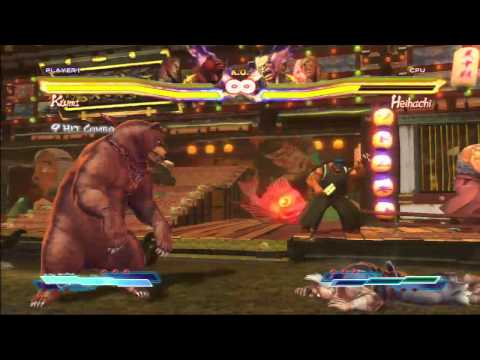 Cross Assaults Montage - Street Fighter x Tekken