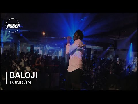 Baloji Boiler Room LIVE Show at DIESEL + EDUN present Studio Africa London - brtvofficial