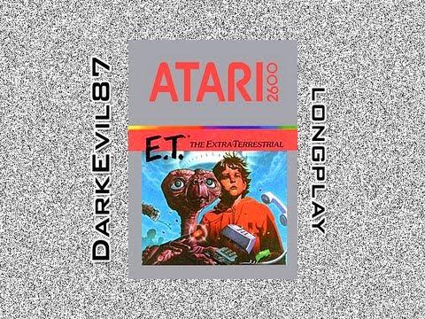 E.T. the Extra-Terrestrial (Atari 2600) Walkthrough