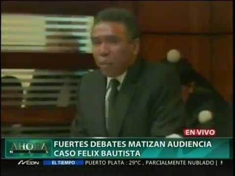 Procurador Domínguez Brito expone en jucio al…