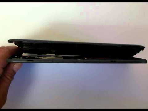 How to replace screen on Kindle 3g