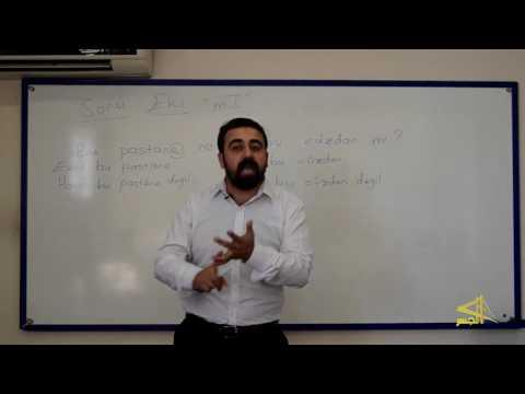 """تعلم اللغة التركية مع الأستاذ ابراهيم اسكي أوجاك """"الحلقة الخامسة"""""""