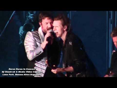 Duran Duran Apertura Luna Park 2012 - Sonido e Imagen Hd Canon Ivis Hf R21.