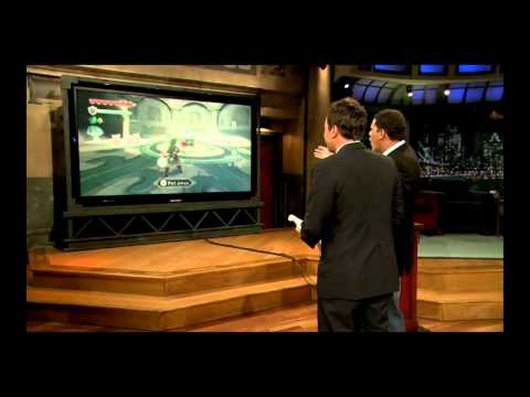 Exclusive Legend Of Zelda: Skyward Sword Gameplay + WiiU + Kid Icarus(HD) | Jimmy Fallon 6-17-11