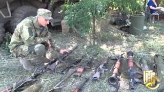Десантники конфисковали российское оружие у террористов