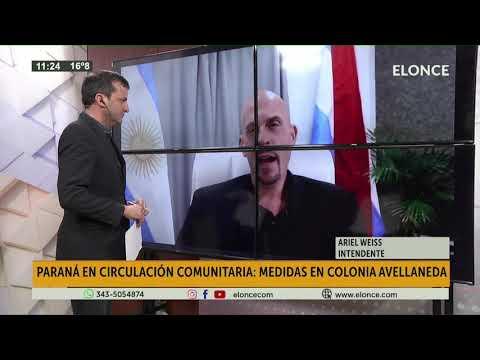 Medidas en Colonia Avellaneda ante la circulación comunitaria de Covid 19 en Paraná