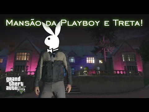 Mansão da Playboy e Treta! - Easter Egg | GTA V [PT-BR]