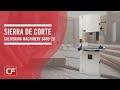 Sierra para corte de paneles de 8', sierra para corte de madera Mod. 6480 20