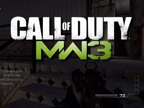 MW3 Trolling - Gun Game Trolling #1 (Gun Game Knifing Reactions!)