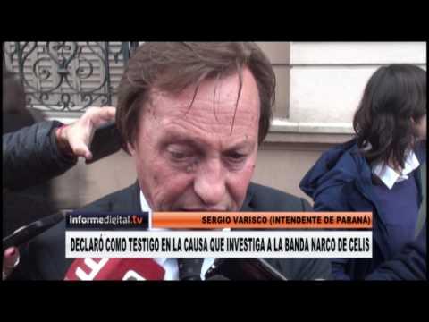 <b>Justicia federal.</b> Sergio Varisco declaró en la causa Celis