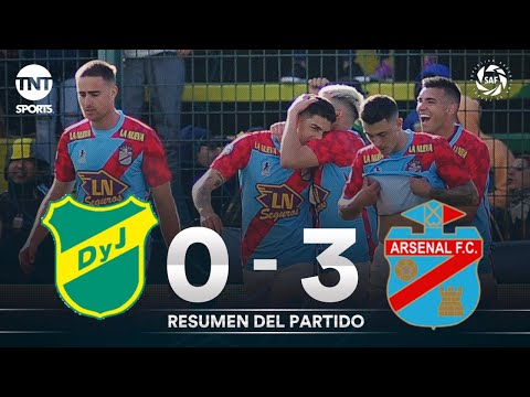 Defensa y Justicia 1-3 Arsenal - Fecha 3 - Superliga Argentina