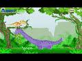 Фрагмент с средины видео - ✔ Мультик Игра про Динозавров - Отважный ДИНОЗАВР Дино - Мульти Пульти ✔