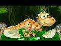 Фрагмент с конца видео - ✔ Мультик Игра про Динозавров - Отважный ДИНОЗАВР Дино - Мульти Пульти ✔