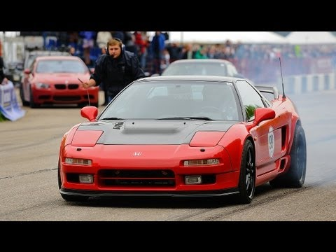 Honda NSX Twin Turbo vs Porsche 911 Turbo S