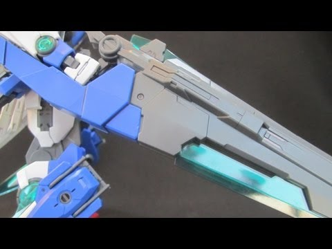 MG 00 Seven Sword /G (Part 1: Unbox) 00 Gundam gunpla model review