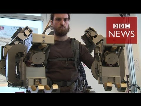 Robo-suit' lets man lift 100kg  (Technology)  3/4/14
