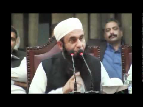 Maulana Tariq Jameel at Punjab University on 10-03-2011 3/8