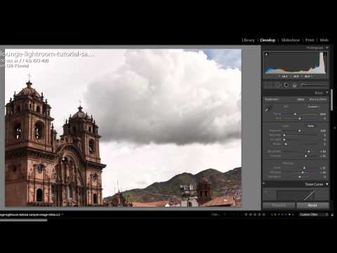 How to Color Correct Landscape Images - Lightroom Video Tutorial