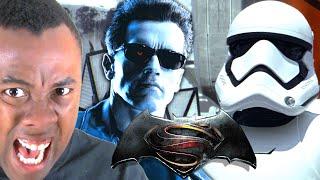 Do MOVIE TRAILERS Spoil the Movies? (Star Wars vs. Terminator) : Black Nerd RANTS
