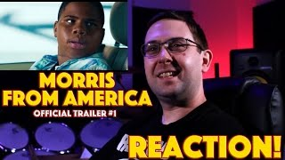 REACTION! Morris From America Official Trailer #1 - Craig Robinson Movie 2016