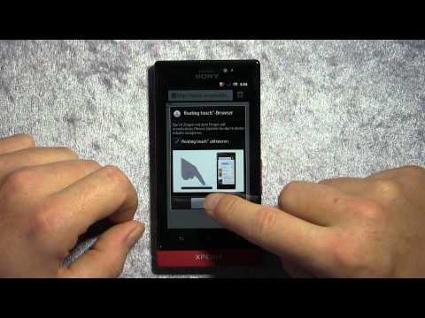 "Sony Xperia Sola mit ""Floating Touch"": Unboxing und erster Test"