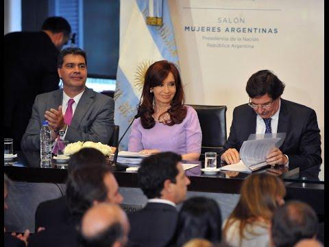 <b>Cadena nacional de Cristina Kirchner. </b>Defendi� acuerdos con China y critic� marcha del #18F