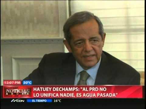 Hatuey dice que al PRD no lo unifica nadie