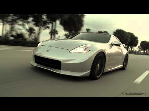 "Nissan 370z Nismo on 20"" Vossen VVS-CV3 Concave Wheels / Rims"