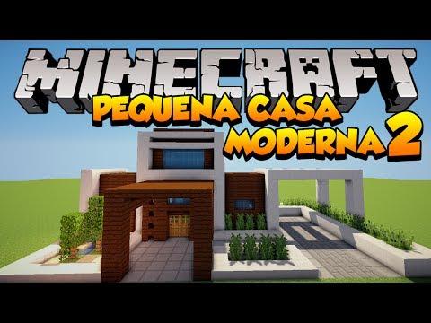 Youtube minecraft construindo uma pequena casa moderna for Casa moderna minecraft ita download