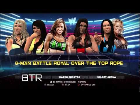 WWE TLC 2012 Pre-Show Predictions 1# Contender Battle Royal for WWE Divas Championship(WWE 13)
